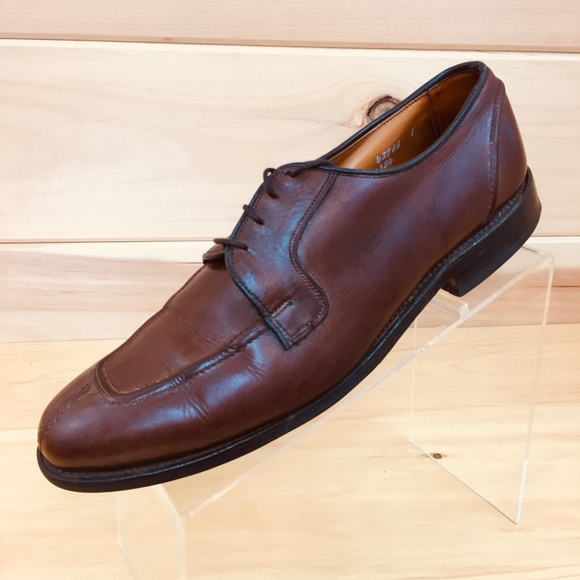 66f94efad0d Allen Edmonds Hancock Brown Leather Oxford Shoes